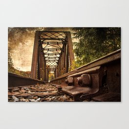 Railroad Bridge Canvas Print