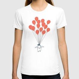 Penguin Balloons T-shirt