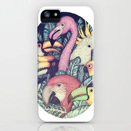 The Jungle Birds iPhone Case