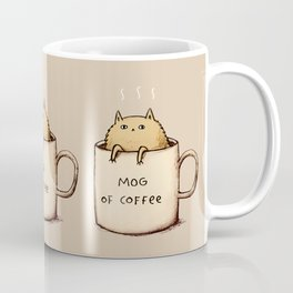 Mog of Coffee Coffee Mug