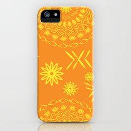constructive magic mandala iPhone Case