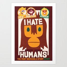 Who's ape Art Print