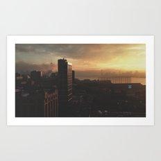 NY Fog Series No.3 Art Print