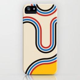 Mid century modern, mid-century wall art, print, geometric wall art, abstract wall art, interior, ma iPhone Case