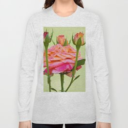 Sherbet Roses Long Sleeve T-shirt
