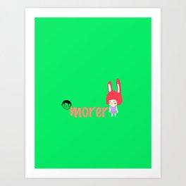 morer Art Print