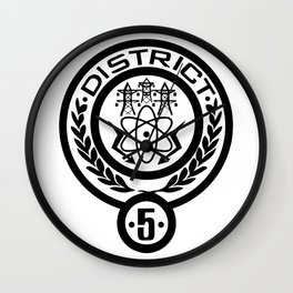 district 5 Wall Clock