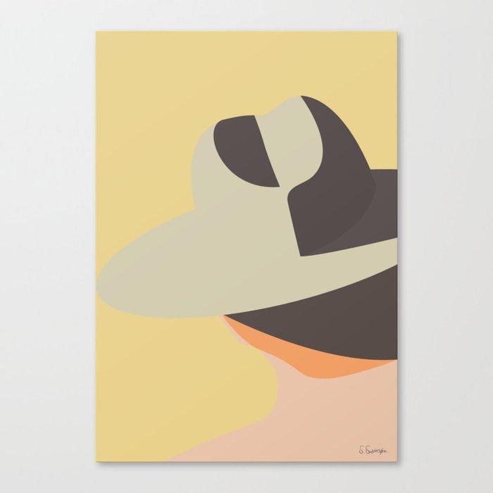 ØRKEN Canvas Print