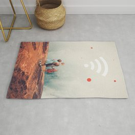 Wirelessly connected to Eternity Rug