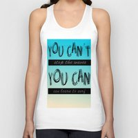 motivation Tank Tops featuring Surf Motivation by Goretti