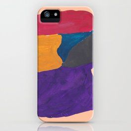 30 | 190330 Abstract Shapes Painting iPhone Case