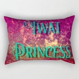 Nasty Girls: Twat Princess Rectangular Pillow