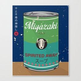Spirited Away - Miyazaki - Special Soup Series  Canvas Print