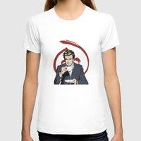 patrick T-shirts featuring Patrick Jane by Renan Lacerda