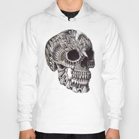 ornate Hoodies featuring Ornate Skull by BIOWORKZ
