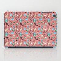 tumblr iPad Cases featuring Tumblr: Kawaii! by Gabriela Riveros