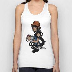 Spray Queen (Alternate T-shirt Version) Unisex Tank Top