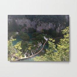 PLITVICE LAKES, CROATIA Metal Print