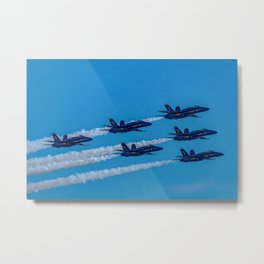 The Blue Angels Metal Print