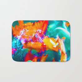 Trippy Fish Bath Mat