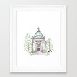 Naval Academy Chapel Framed Art Print