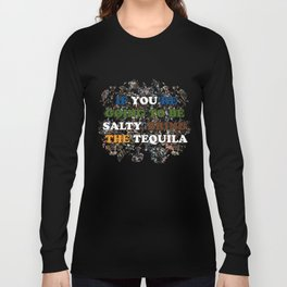 Tequila graphic tee Long Sleeve T-shirt