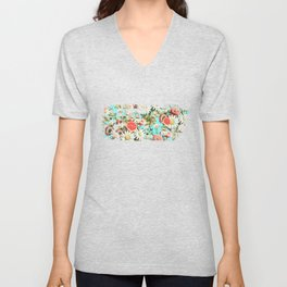 Botanical Garden #society6 #decor #buyart Unisex V-Neck