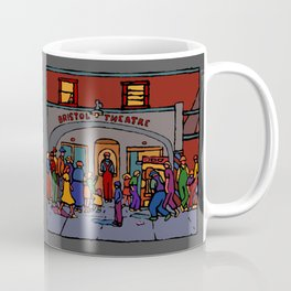 Mystery Clown Coffee Mug
