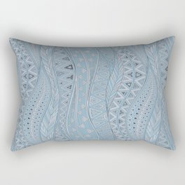 calm bay Rectangular Pillow