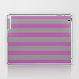 Radiant Orchid Stripes Laptop & iPad Skin