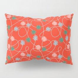 Holiday Pom-Poms Pillow Sham
