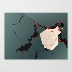 smashed Canvas Print
