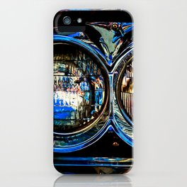Double Headlights Color iPhone Case