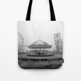 Silent Beach Park Tote Bag