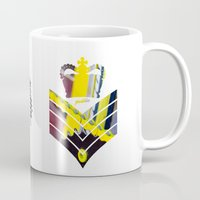 general Mugs featuring Fixie General by Pedlin
