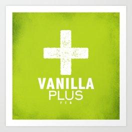 Vanilla + Art Print