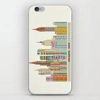 atlanta iPhone & iPod Skins featuring Atlanta by bri.buckley