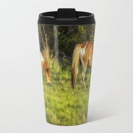 Following Mom - Chincoteague Pinto Foal No. 3 Travel Mug