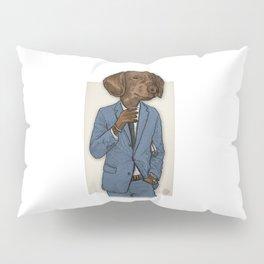 Good Morning, Dapper Doge Pillow Sham