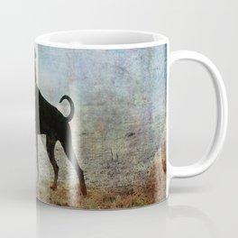Doberman Art Coffee Mug