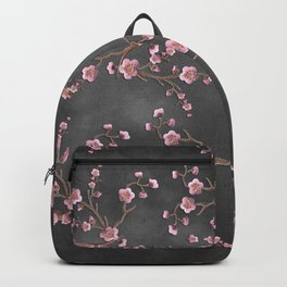 SAKURA LOVE - GRUNGE BLACK Backpack