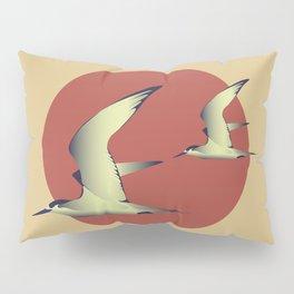 Birds, Sun and Sea Pillow Sham