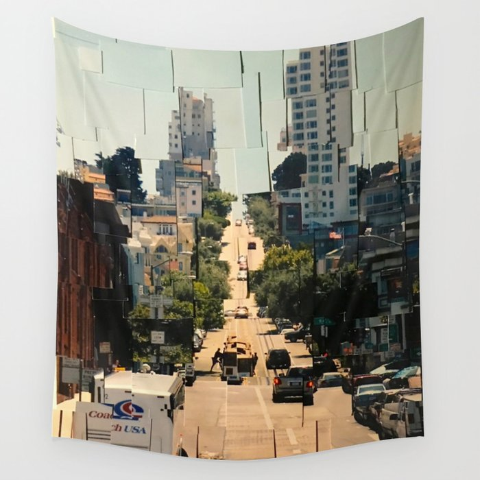 It's a Cubist's World Wall Tapestry