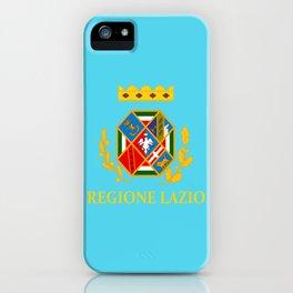 flag of latium or Lazio iPhone Case