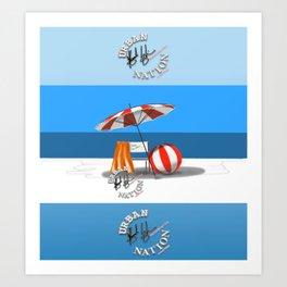 Summer - Viva la Vida Art Print