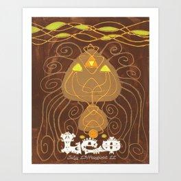 Leo Print Art Print