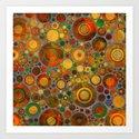 Abstract Circles Pattern 2 by klaraacel