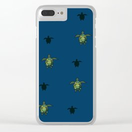 Sea Turtles 2 Clear iPhone Case
