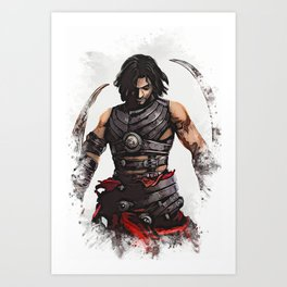 Prince of Persia Art Print