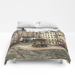 Edinburgh Grassmarket Comforters